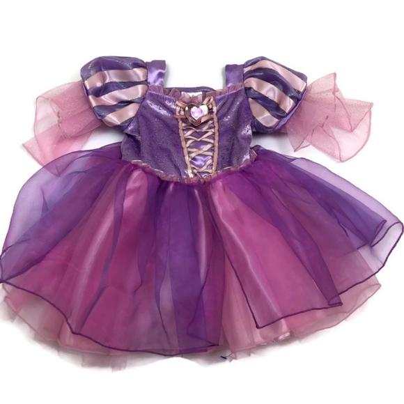 4eadfcdc9 Disney Dresses   Baby Girl Rapunzel Tangled Purple Dress   Poshmark